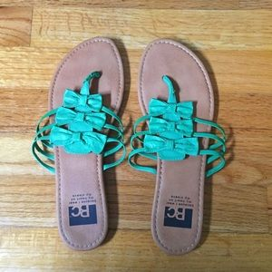 BC Footwear Sandals Green